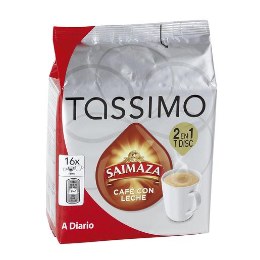 TASSIMO Saimaza café con leche 16 cápsulas estuche 184 gr