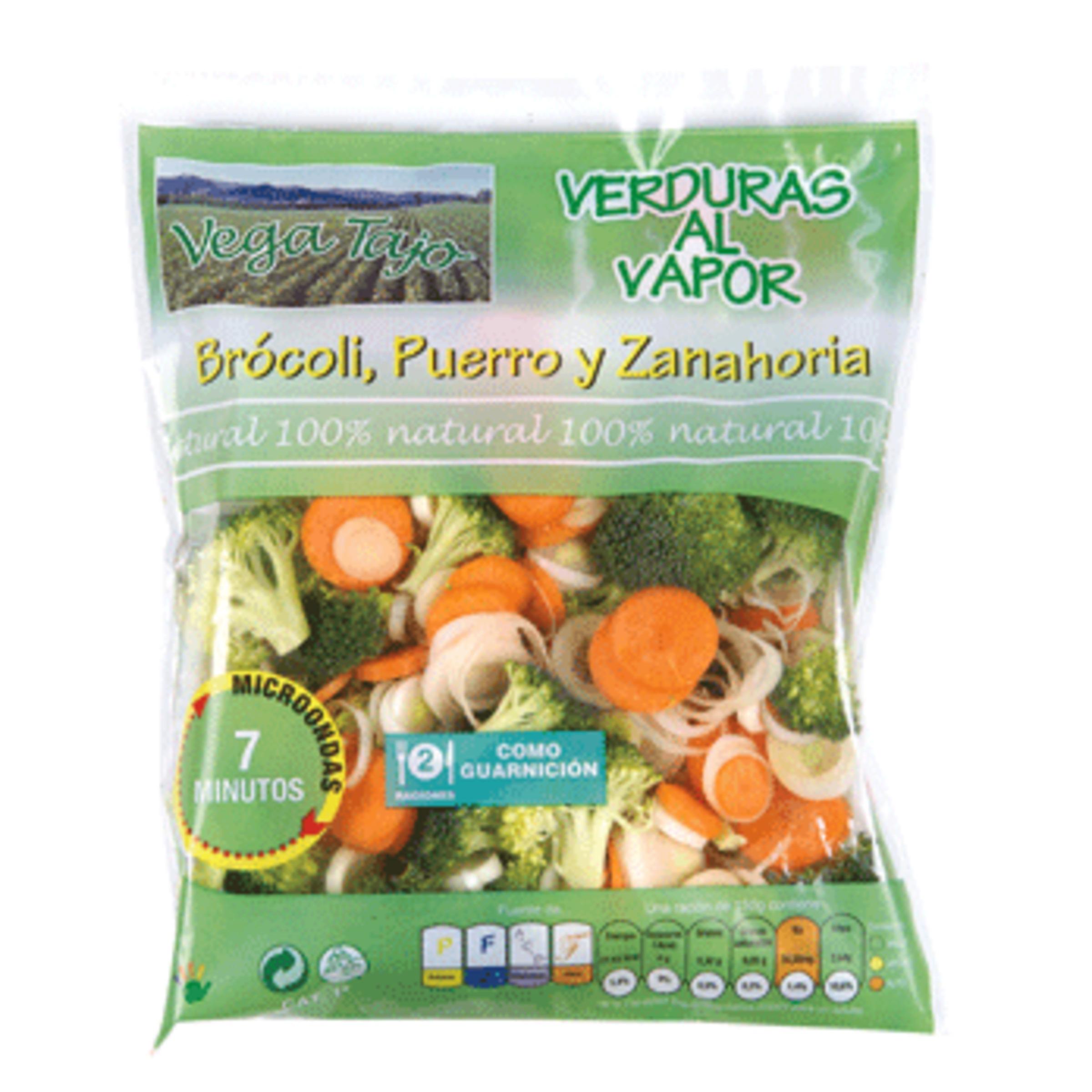 Verduras al vapor para microondas bolsa 300 gr - Como cocinar al vapor en microondas ...