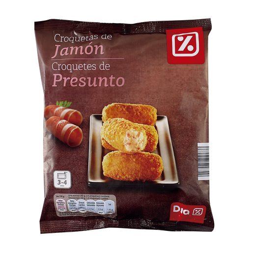 DIA croquetas de jamón bolsa 500 gr