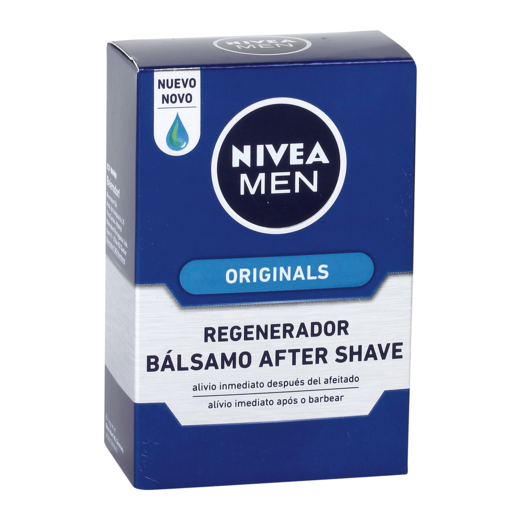 NIVEA FOR MEN after shave bálsamo regenerador frasco 100 ml