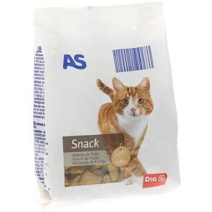 AS snack para gatos de pollo bolsa 60 gr