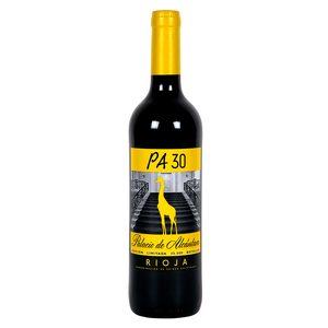 PALACIO DE ALCÁNTARA vino tinto PA 30 botella 75 cl
