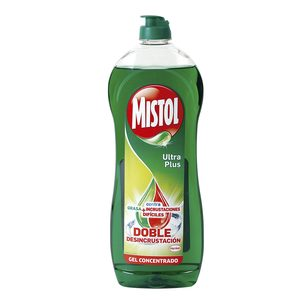 MISTOL lavavajillas mano concentrado ultra plus botella 620 ml