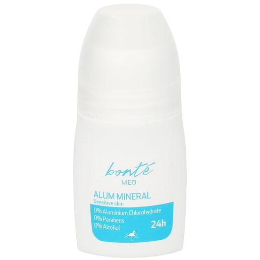 BONTE desodorante con mineral de alumbre 0% alcohol roll on 50 ml