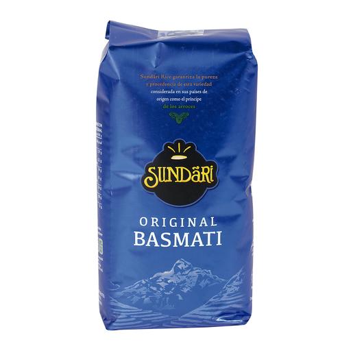 SUNDARI arroz basmati paquete 1 Kg