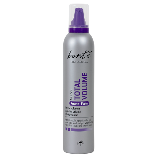 BONTE mousse volumen total fuerte spray 300 ml