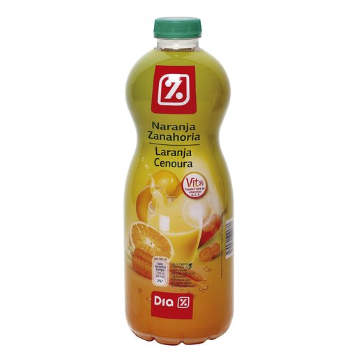 DIA bebida de naranja y zanahoria botella 1 lt