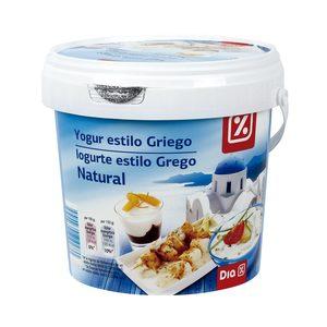 DIA yogur natural al estilo griego 1 Kg