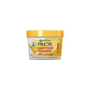 FRUCTIS mascarilla hair food banana ultra nutritiva tarro 390 ml