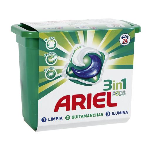 ARIEL Pods detergente máquina en cápsulas 24 uds