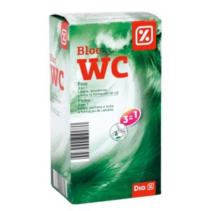 DIA bloc wc pino 3 en 1 caja 4 uds