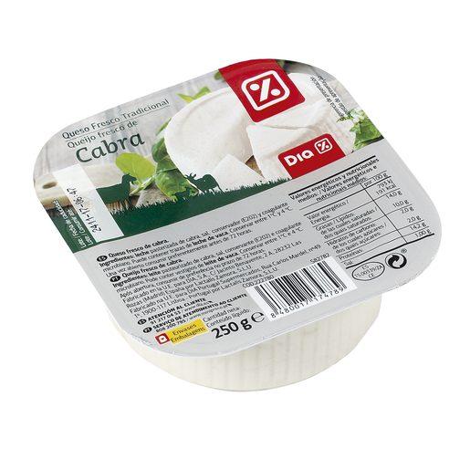 DIA queso fresco de cabra tarrina 250 gr