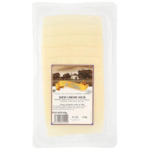 LA PATUA queso de oveja en lonchas envase 150 gr