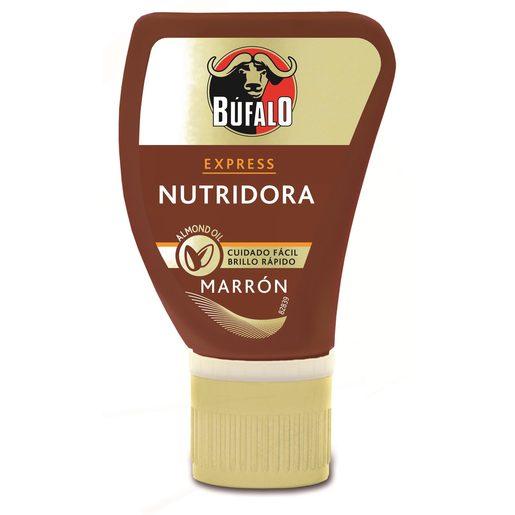 BÚFALO Express crema nutridora color marrón bote 50 ml