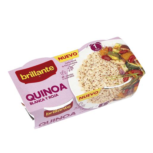 BRILLANTE quinoa vaso 2 x 125 gr