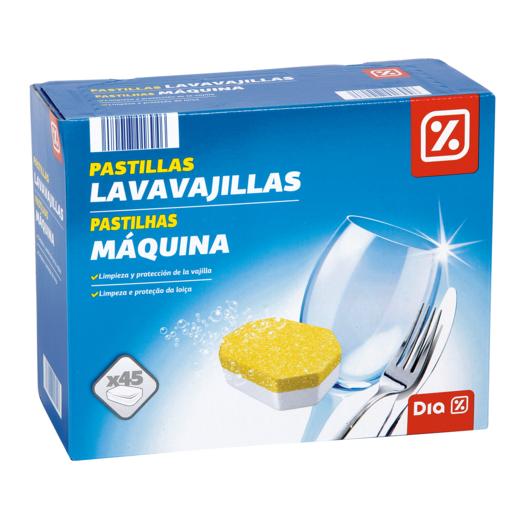 DIA lavavajillas máquina caja 45 pastillas