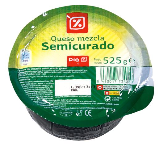 DIA queso semicurado mini pieza 525 g