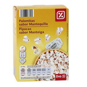 DIA palomitas sabor mantequilla caja 300 gr