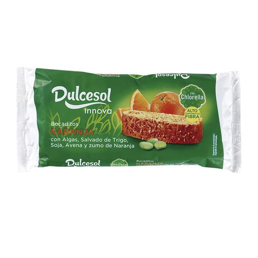 DULCESOL bocaditos de naranja paquete 210 gr