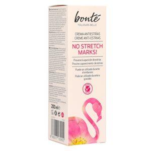BONTE crema antiestrías tubo 200 ml