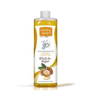 NATURAL HONEY aceite corporal elixir de argán botella 300 ml