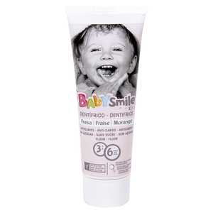 BABYSMILE pasta dentífrica infantil tubo 75 ml