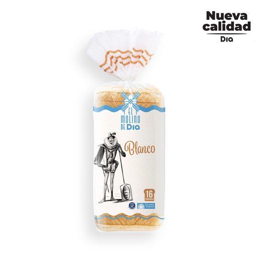 EL MOLINO DE DIA pan de molde blanco bolsa 460 gr