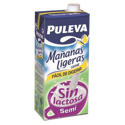 PULEVA leche semidesnatada siin lactosa envase 1lt
