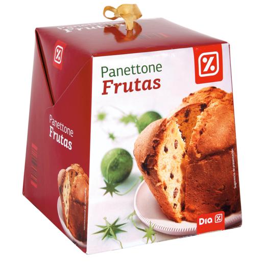 DIA panettone con frutas caja 500 gr