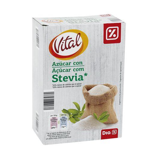 DIA VITAL azúcar con stevia paquete 500 gr