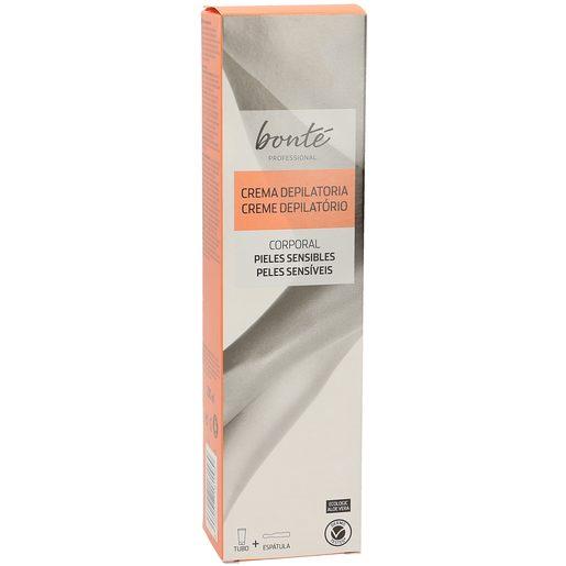 BONTE crema depilatoria corporal pieles sensibles tubo 200 ml