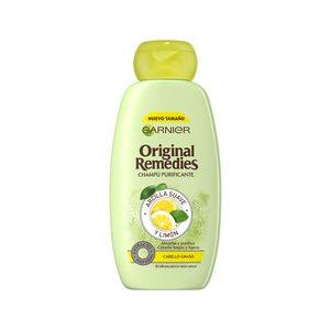 ORIGINAL REMEDIES  champú arcilla suave y limón bote 300 ml