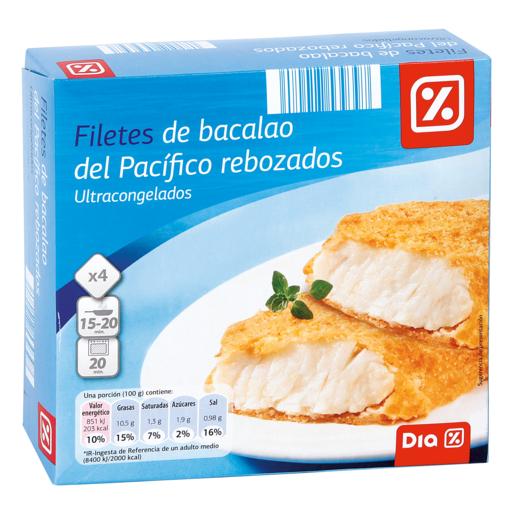 DIA filete de bacalao empanado 400 gr