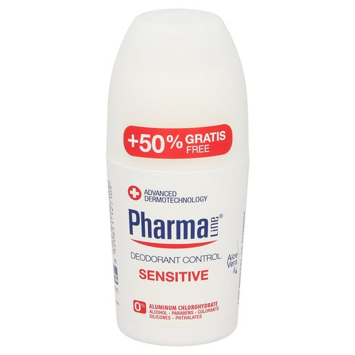 PHARMALINE desodorante sensitive roll on 50 ml