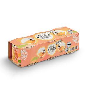DIA SUEÑOS mitades de melocotón en almíbar pack 3 latas 115 gr