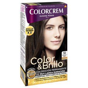 COLORCREM tinte Castaño Claro Nº 50 caja 1 ud