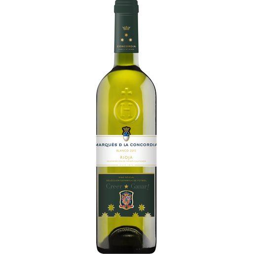 MARQUÉS DE LA CONCORDIA vino blanco DO Rioja botella 75 cl