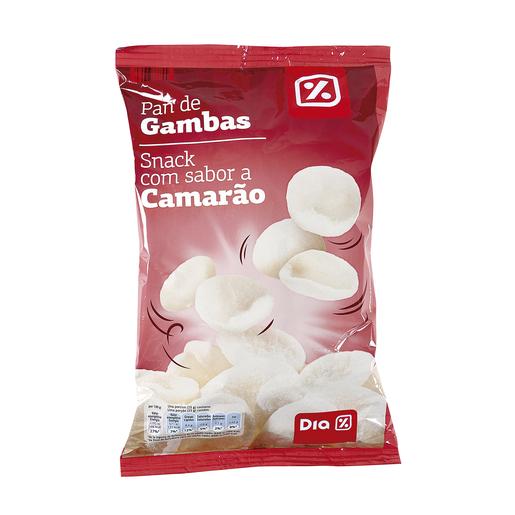 DIA snack sabor pan de gambas bolsa 75 gr