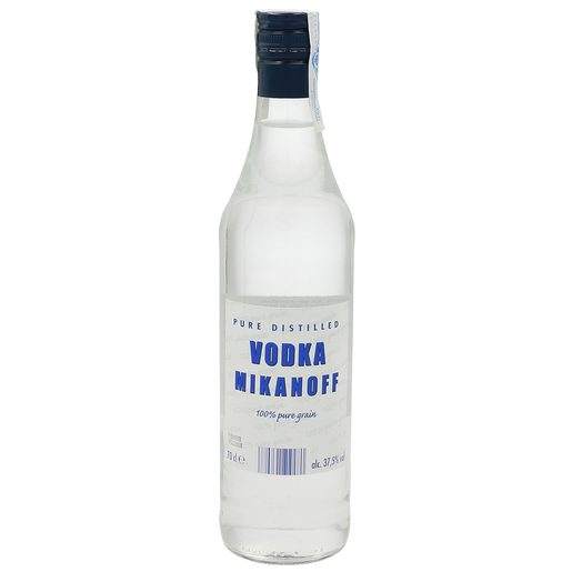 MIKANOFF vodka botella 70 cl