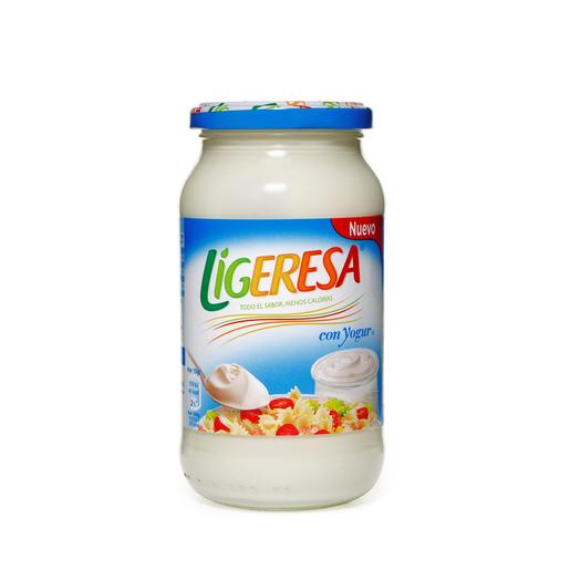 LIGERESA mayonesa con yogurt frasco 430 ml