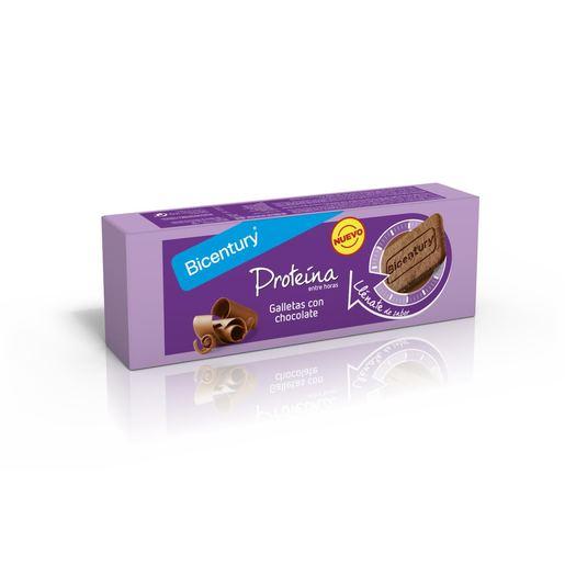 BICENTURY galletas proteínas con chocolate paquete 144 gr