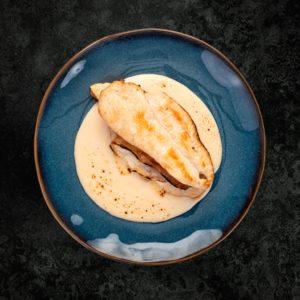 DIA AL PUNTO Pollo con queso y bacon bandeja 1 ud