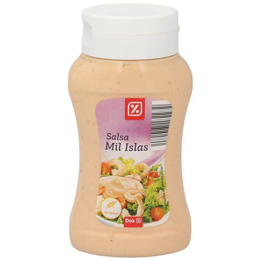 DIA salsa mil islas bote 290 ml