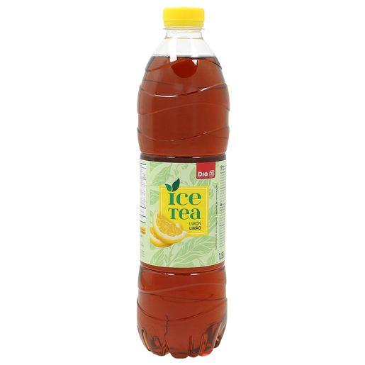DIA refresco de te al limón botella 1.5 lt