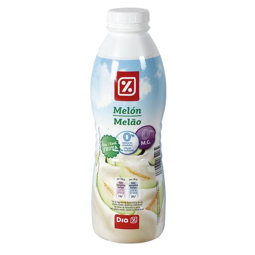 DIA yogur líquido melón 0% M.G. botella 750 gr