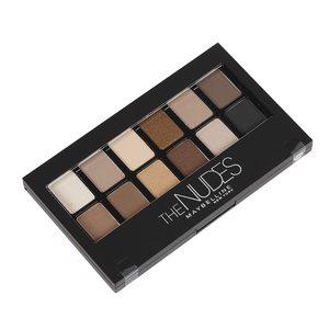 MAYBELLINE The Nudes Palette sombra de ojos