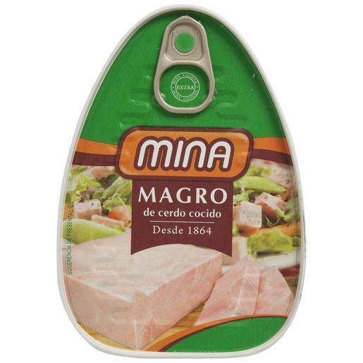 MINA magro de cerdo extra lata 220GR