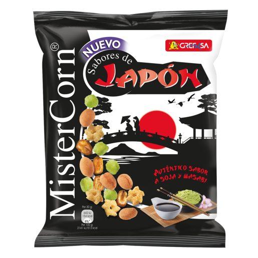GREFUSA Mister corn sabores de japón cocktail frutos secos bolsa 170 gr