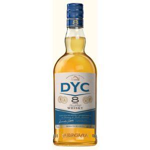 DYC whisky 8 años botella 70 cl