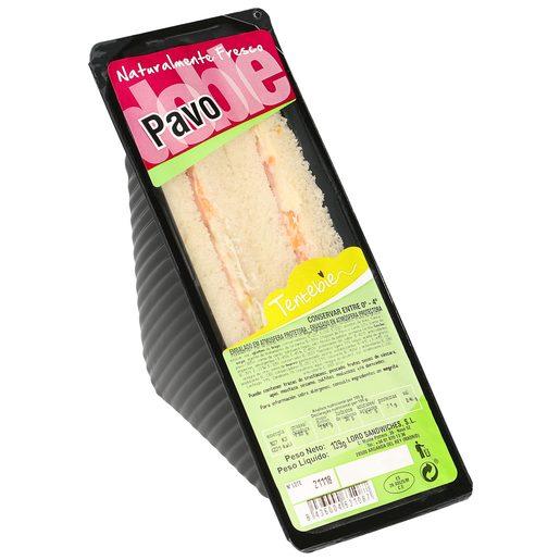 TENTEBIEN sandwich de pavo 120 gr